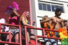 Gay Parade in Sao Paulo Royalty Free Stock Image