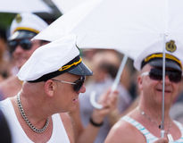 Gay  parade in Sitges Stock Photo