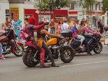 Gay parade vienna Royalty Free Stock Photo