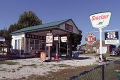 Gay Parita Sinclair Gas Station Imágenes de archivo libres de regalías