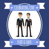Gay people wedding Stock Photography