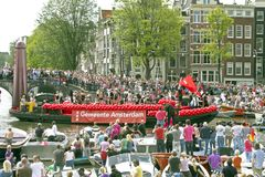 Gay Pride 2011, Amsterdam Stock Photography