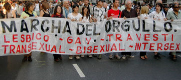 Gay pride stock images