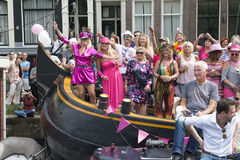 Gay Pride 2015 Amsterdam Stock Images
