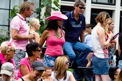 Gay Pride Canal Parade Amsterdam 2014 Stock Images
