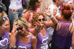 Gay Pride Canal Parade Amsterdam 2014 Royalty Free Stock Photos