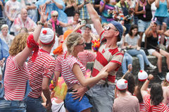 Gay Pride Canal Parade Amsterdam 2014 Stock Image