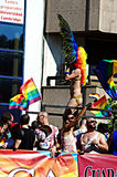 Gay Pride celebrations 16 Royalty Free Stock Photography