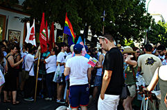 Gay Pride celebrations 20 Stock Photography