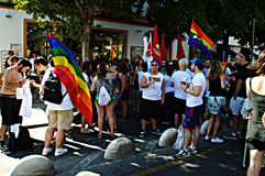 Gay Pride celebrations 24 Royalty Free Stock Images