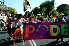 Gay Pride celebrations 35. This is of the parade and demonstration of the gay Pride celebrations Stock Photo