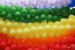 Gay pride colors Stock Photos