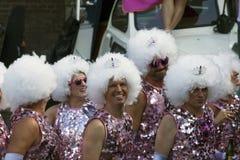 Gay pride dancers Stock Photo