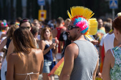 Gay Pride de Barcelone Photographie stock libre de droits