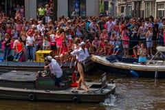 Gay pride 2014 di Amsterdam Fotografia Stock