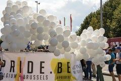 Gay pride 2014 di Anversa Fotografia Stock