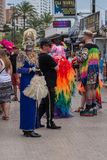 Gay pride 2018 di Benidorm Fotografie Stock Libere da Diritti