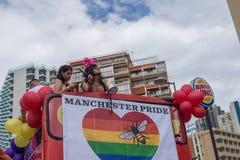 Gay pride 2018 di Benidorm Fotografia Stock
