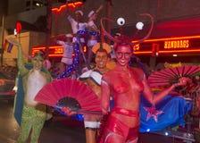 Gay pride di Las Vegas Immagine Stock Libera da Diritti