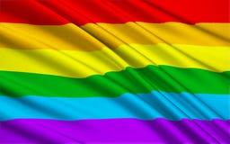 Gay Pride Flag stock de ilustración