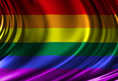 Gay pride flag Royalty Free Stock Photography