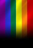 Gay pride flag Stock Images