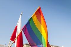 Gay Pride Flag Royalty Free Stock Photos