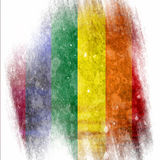 Gay pride flag Stock Image