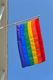 Gay Pride Flag 3 Stock Photos