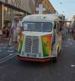Gay pride parade in Milan
