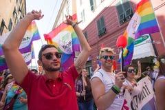 2016 Gay pride Genova Stock Image