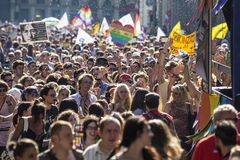 Gay Pride 2015 Royalty Free Stock Photography