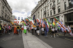 Gay Pride London 2014 Stock Photo