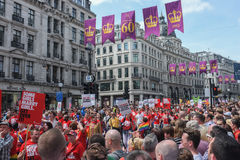 Gay Pride 2013 London Stock Photos