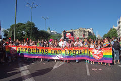 Gay Pride Madrid July 2008 Royalty Free Stock Image