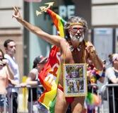 Gay Pride March Immagine Stock