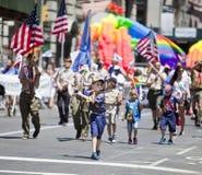 Gay Pride March Immagini Stock Libere da Diritti