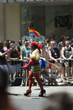 Gay Pride March de NYC Imagenes de archivo