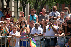 Gay Pride March di LGBT in Manhattan Immagine Stock Libera da Diritti