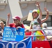 Gay Pride March di New York Fotografia Stock Libera da Diritti