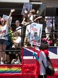 Gay Pride March di New York Immagini Stock Libere da Diritti