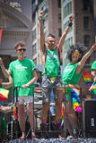 Gay Pride March di New York Fotografie Stock