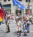 Gay Pride March Stock Images