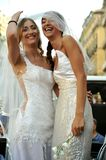 Gay pride in Naples, Italy 2015 Royalty Free Stock Photography