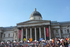 Gay Pride National Gallery 2013 di Londra fotografie stock