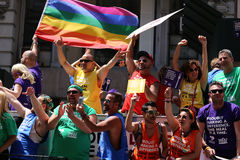 The Gay Pride 2014, New York city, USA Stock Images