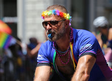 The Gay Pride 2014, New York city, USA Stock Photos