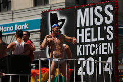 The Gay Pride 2014, New York city, USA Stock Image