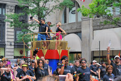 Gay Pride Parade. The annual Gay Pride Parade in New York City Stock Photos
