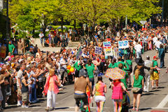 Gay Pride Parade Stock Images
